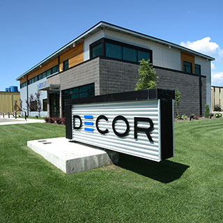 Decor Cabinets Ltd headquarters in Morden Manitoba, Canada
